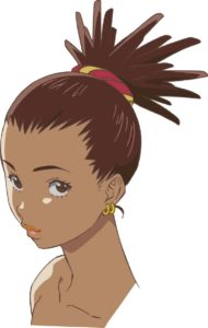 Carole from anime Carole and Tuesday