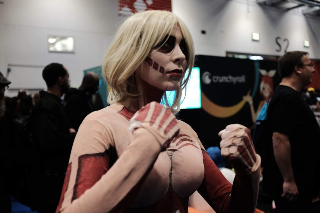 Annie from Attack on Titan | MANGA.TOKYO Cosplay Gallery from MCM Comic Con London