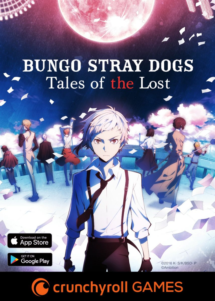 Bungo Stray Dogs: Tales of the Lost English Game Release Announced