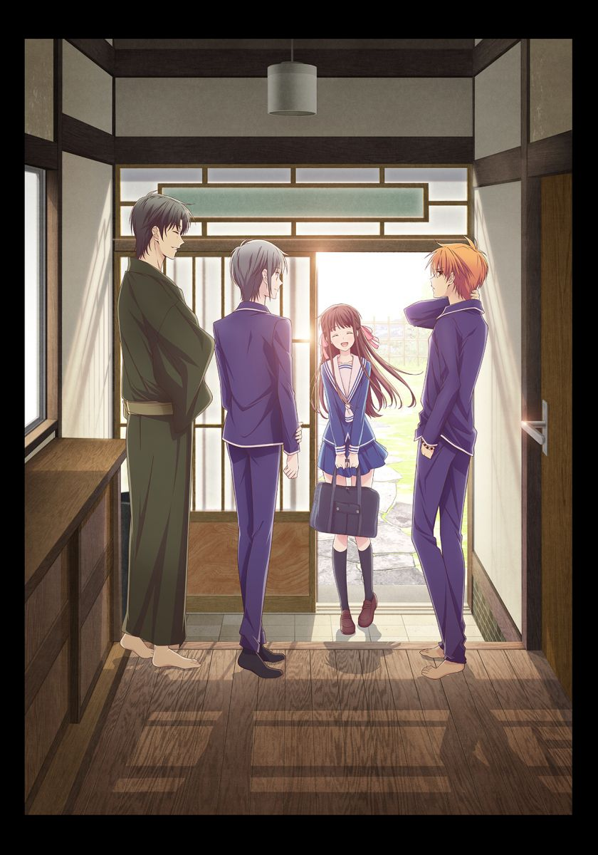 New Fruits Basket Anime Visual
