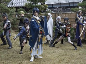 Touken Ranbu Movie Shows Moving Sword Boys in Trailer