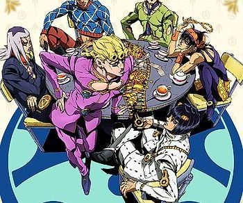 JoJo's Bizarre Adventure Golden Wind Anime Visual