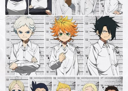 The Promised Neverland (Yakusoku no Neverland) Anime Visual