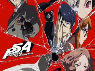 Persona 5 the Animation Releases Key Visual for TV Special