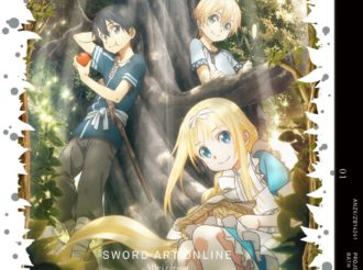 Sword Art Online Alicization DVD Vol 1 Comes With Original Short Novel