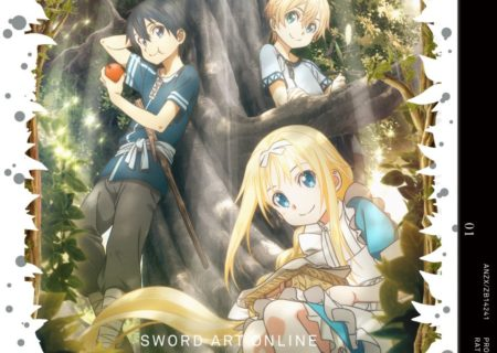 Sword Art Online Distant Journey Novel Jacket