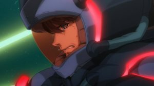 Official Screenshot from the Anime Trailer of Mobile Suit Gundam Narrative (Kidou Senshi Gundam NT)