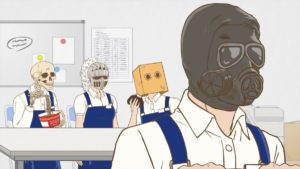 Skull-face Bookseller Honda-san Episode 10 Official Anime Screenshot