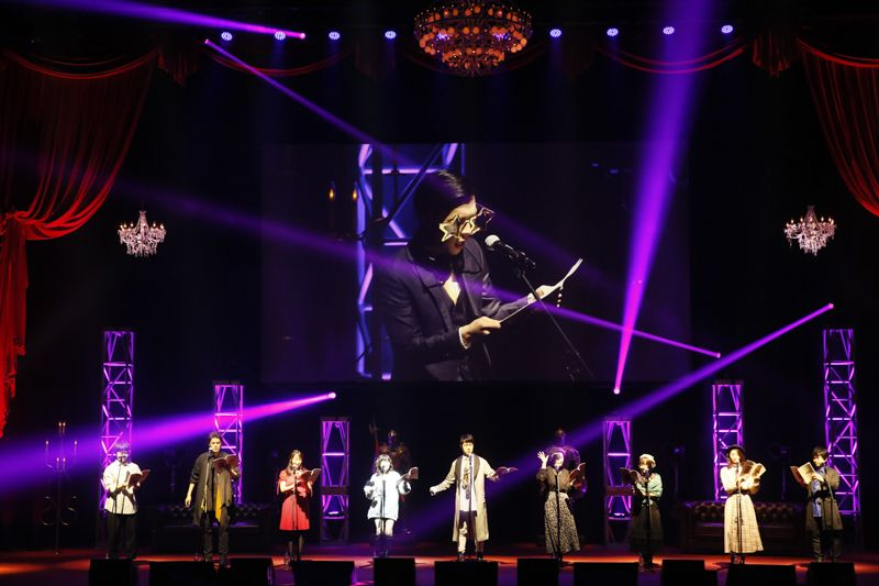 Persona 5 the Animation Masquerade Party Event
