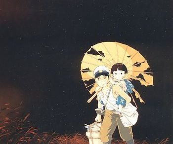 Grave of the Fireflies Anime Movie Visual