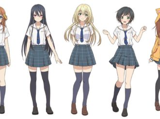 Hachigatsu no Cinderella Nine Reveals First Batch of Character Designs