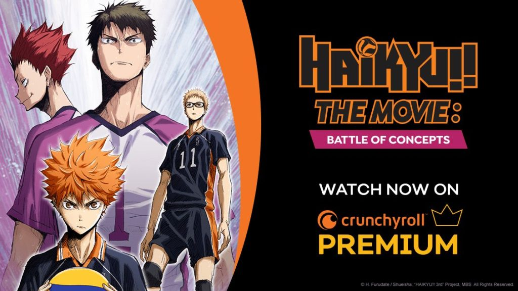 Haikyu!! The Movie: Battle of Concepts | Crunchyroll Poster