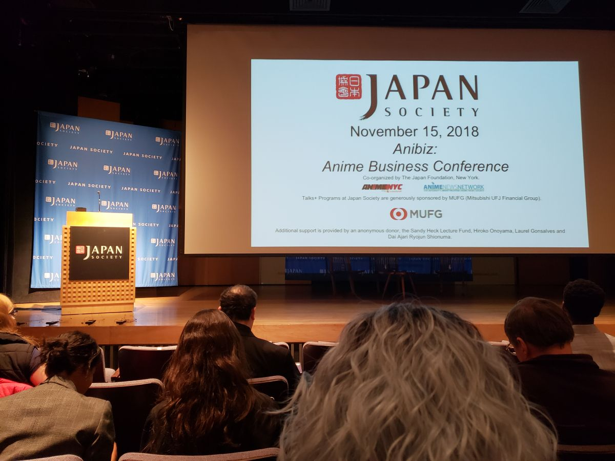 Anibiz: Anime Business Conference 2018 Report