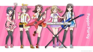 Poppin Party from BanG Dream! 2nd Season Anime