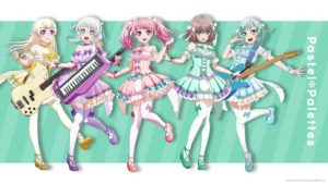 PAstel Palletes from BanG Dream! 2nd Season Anime