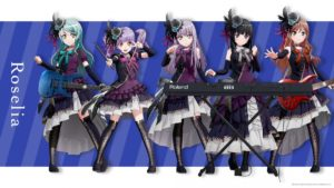 Roselia from BanG Dream! 2nd Season Anime