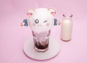 Drink from Hamtaro Themed Cafe