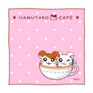 Merchandise from Hamtaro Themed Cafe