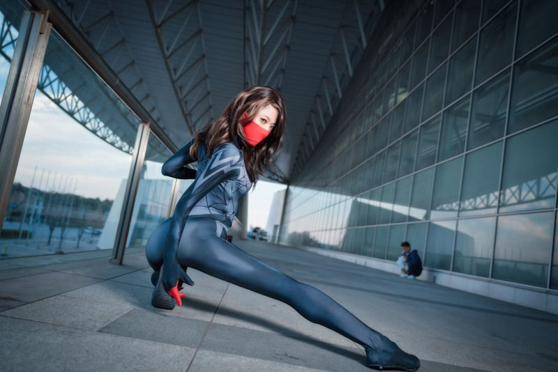 Silk from Spider-Man Spin-Off Silk   Cosplay Gallery from Tokyo Comic Con 2018