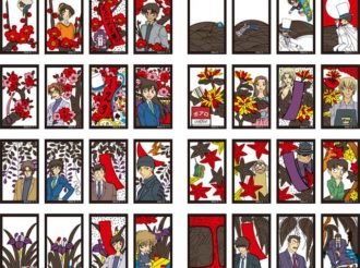 Detective Conan Hanafuda Features 28 Characters and Matching Goods