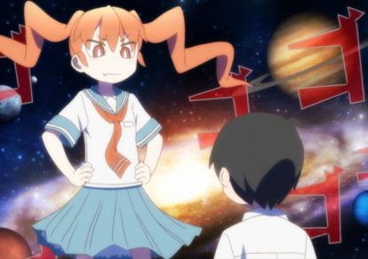 Ueno-san wa Bukiyou (How clumsy you are, Miss Ueno.) Official Anime Trailer Screenshot