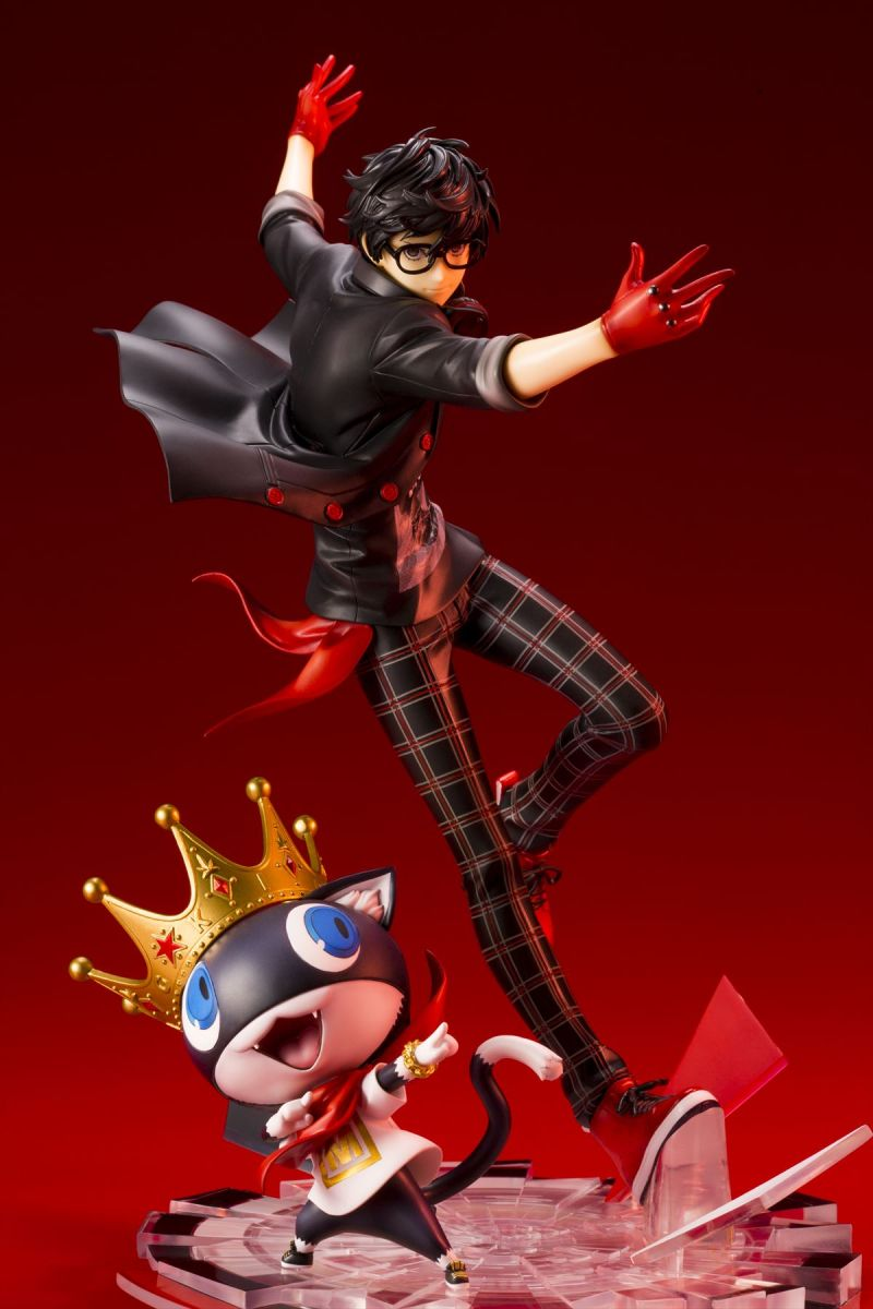 ARTFXJ Hero & Morgana Persona Anime Figure | MANGA.TOKYO Anime Merchandise Monday (December 2018) (C)ATLUS (C)SEGA All rights reserved.