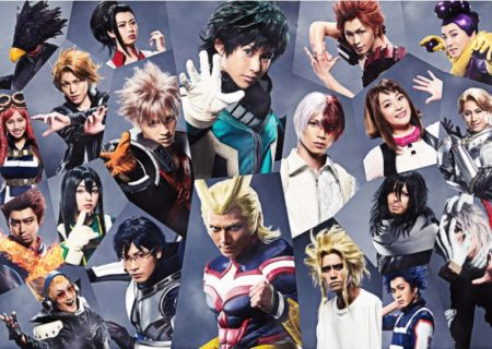 My Hero Academia: The 'Ultra' Stage Cast Visual