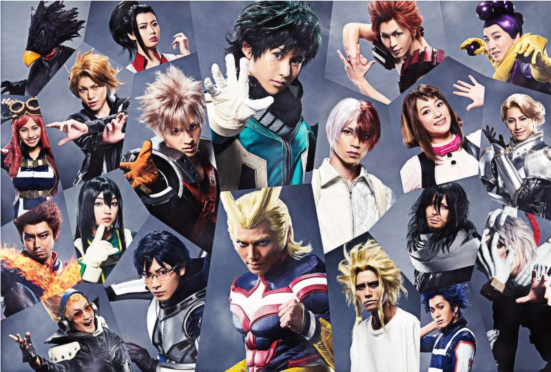 Image result for My Hero Academia Stage Play