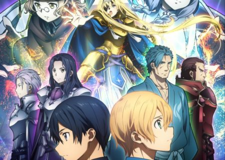 Sword Art Online Alicization Anime Key VIsual