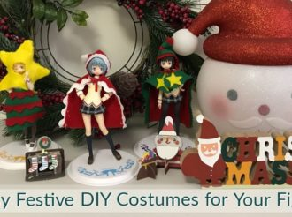 Help Your Figures Get the 'Christmas Look' With These Easy DIYs