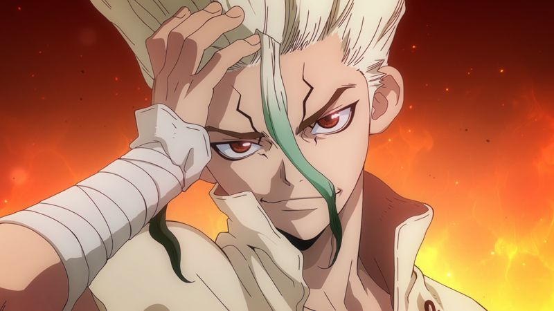 Dr. Stone TV Anime Trailer Visual