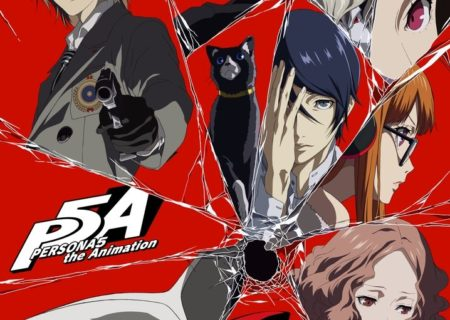 Persona 5 the Animation Visual