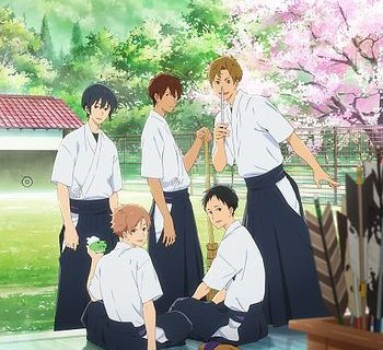 Tsurune Anime Visual