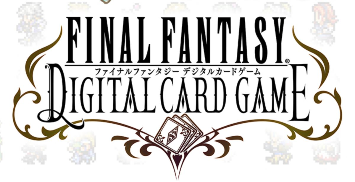 Final Fantasy Digital Card Game Logo
