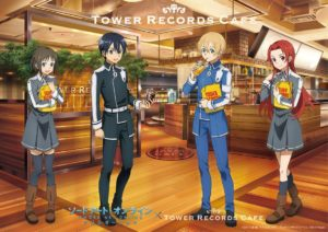 Sword Art Online: Alicization x TOWER RECORDS CAFE