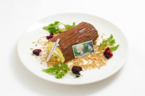 Menu item from themed cafe Sword Art Online: Alicization x TOWER RECORDS CAFE