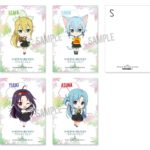 Postcard from themed cafe Sword Art Online: Alicization x TOWER RECORDS CAFE