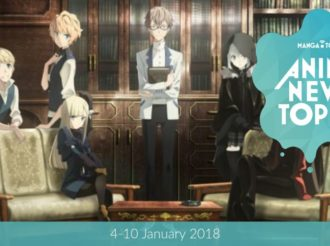 This Week's Top 10 Most Popular Anime News (4-10 January 2018)