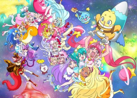 Anime Movie Visual Pretty Cure Miracle Universe