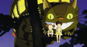 My Neighbor Totoro Anime Movie Screenshot © 1988 Studio Ghibli