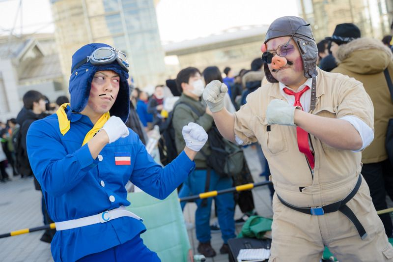 Curtis and Porco   Cosplay Gallery from Comiket 95   MANGA.TOKYO