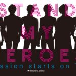 TV anime Stand My Heroes: Piece of Truth Visual