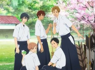 Tsurune Episode 12 Review:  Five Arrows