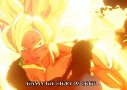 Dragon Ball Game Project Z Screenshot