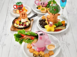 Kirby Cafe New Menu and Merchandise from 27 February 2019
