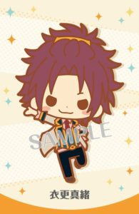 Mao Isara Ensemble Stars! Item: Rubber Strap | MANGA.TOKYO Anime Merchandise Monday (January 2019)(C)2014 HappyElements K.K