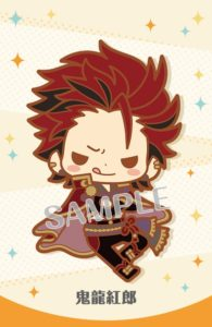 Kuro Kiryu Ensemble Stars! Item: Rubber Strap | MANGA.TOKYO Anime Merchandise Monday (January 2019)(C)2014 HappyElements K.K