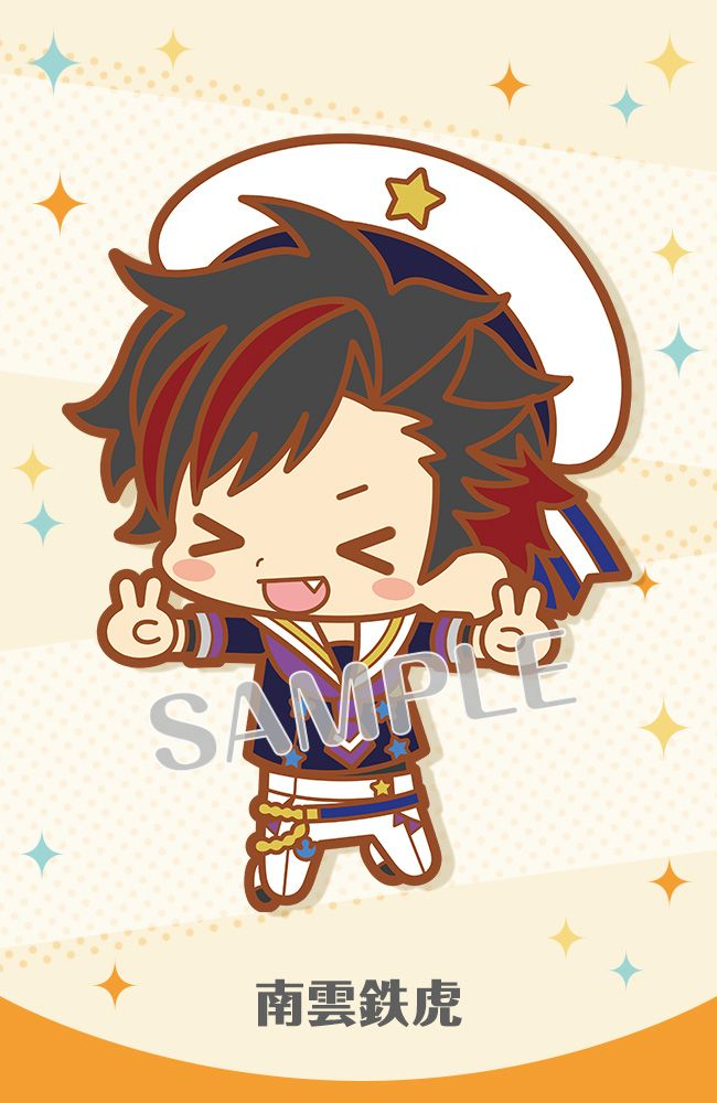 Tetora Nagumo Ensemble Stars! Item: Rubber Strap | MANGA.TOKYO Anime Merchandise Monday (January 2019)(C)2014 HappyElements K.K