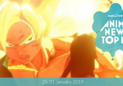 This Week's Top 10 Most Popular Anime News (25-31 January 2019)