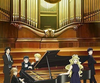 Forest of Piano 2nd Season Anime Visual